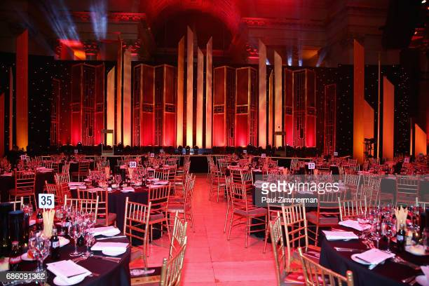 View of the dinning room during The 76th Annual Peabody Awards Ceremony at Cipriani, Wall Street on May 20, 2017 in New York City.