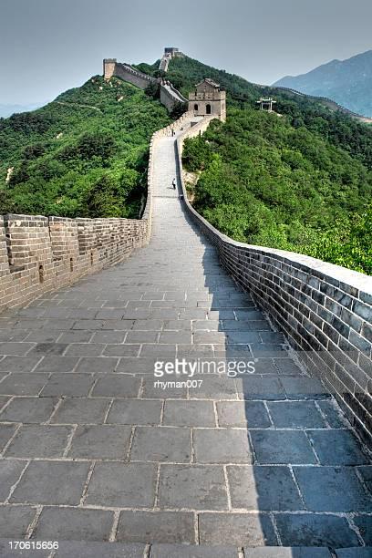男性には、万里の長城 - 中国北東部 ストックフォトと画像