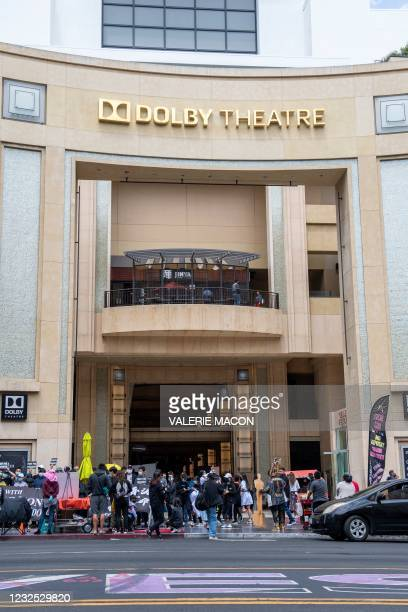 CA: General Views Of Venues During The 93rd Annual Academy Awards