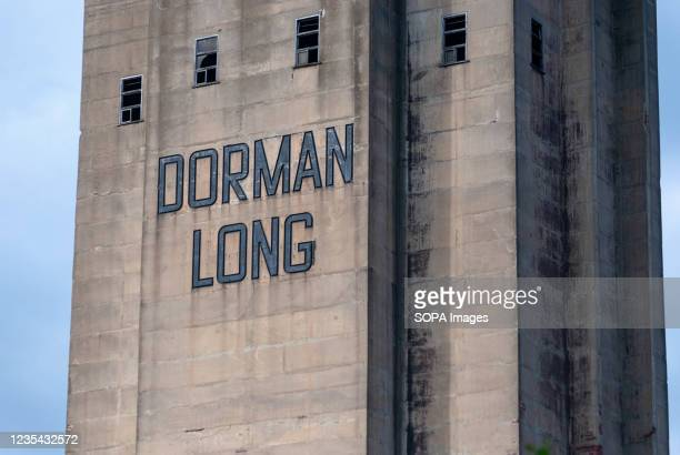 View of the Dorman Long Tower at Southbank in Redcar prior to its explosive demolition following a successful appeal of its Grade II listing by Tees...