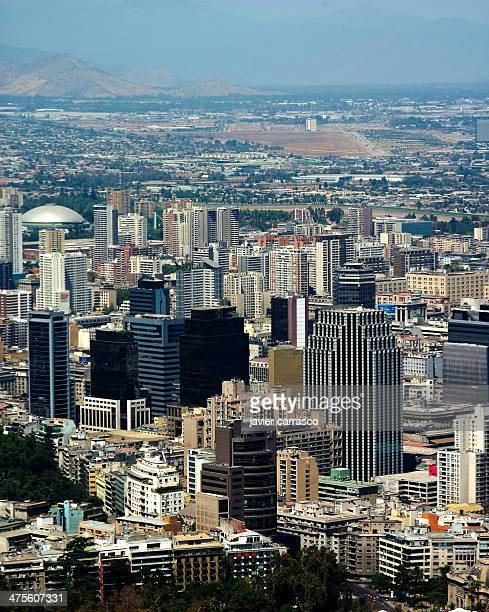 View of the downtown of Santiago City.
