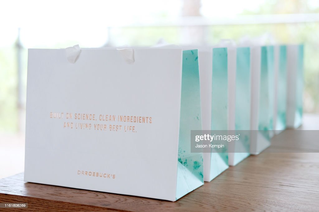 JNSQ Serves Its Rosé Cru And Sauvignon Blanc At The Miami Swim Week Influencer Brunch Hosted By Natasha Oakley And Devin Brugman : News Photo