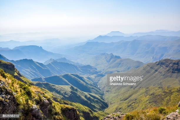 View of the Drakensberg Mountains