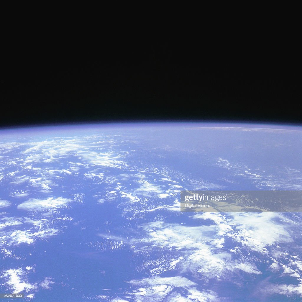 View of the Earth From Space : Stock Photo