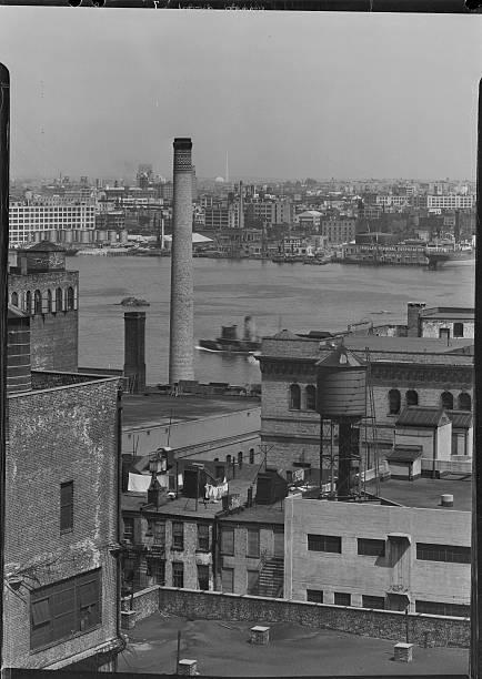 Buildings Along East River