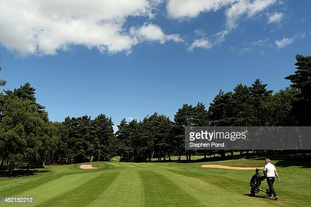 A view of the eighth hole during the Lombard Trophy East Region Qualifier at King's Lynn Golf Club on July 14 2014 in King's Lynn England