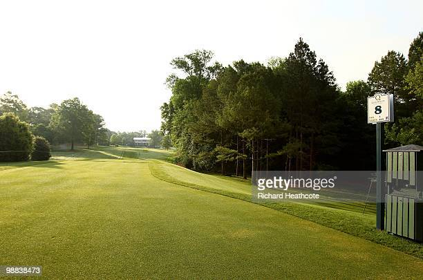 A view of the eighth tee during Quail Hollow Championship at Quail Hollow Country Club on May 1 2010 in Charlotte North Carolina