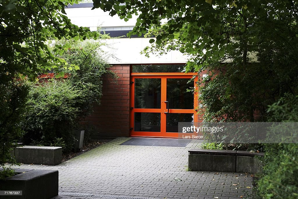 A view of the elementary school in Duisburg's Dislichstrasse on September 01, 2006, Duisburg-Meiderich, Germany. On the evening of August 31, 2006 a nine year old schoolgirl was wounded as she played in the schoolyard with other pupils, children heard two shoots fired. The police are tracing a suspect, a former teacher living opposite the school.