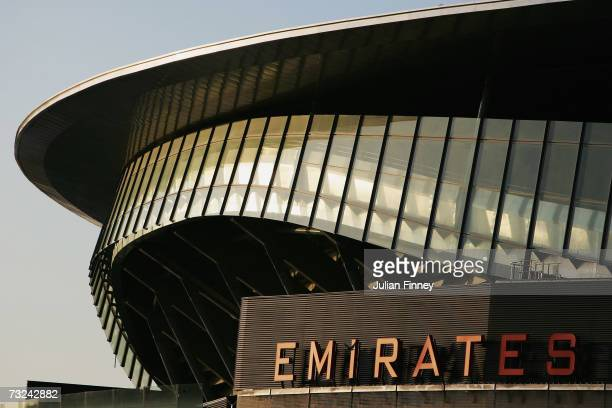 View of the Emirates Stadium on February 7, 2007 in London, England.