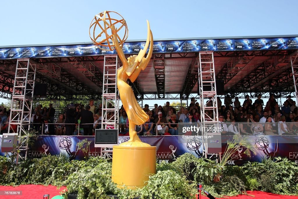 59th Annual Emmy Awards - Arrivals : News Photo
