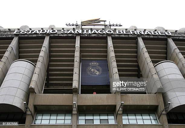 View of the entrance to Real Madrid's home the Santiago Bernabeu stadium in Madrid 07 December 2006 According to an article published today in the...