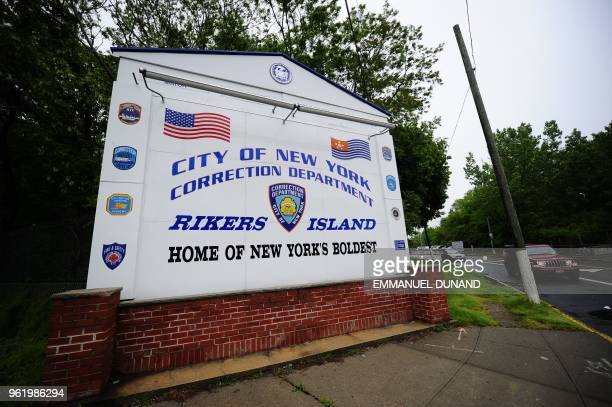 A view of the entrance to Rikers Island penitentiary complex where IMF head Dominique StraussKahn is being held in New York May 17 2011 StraussKahn...