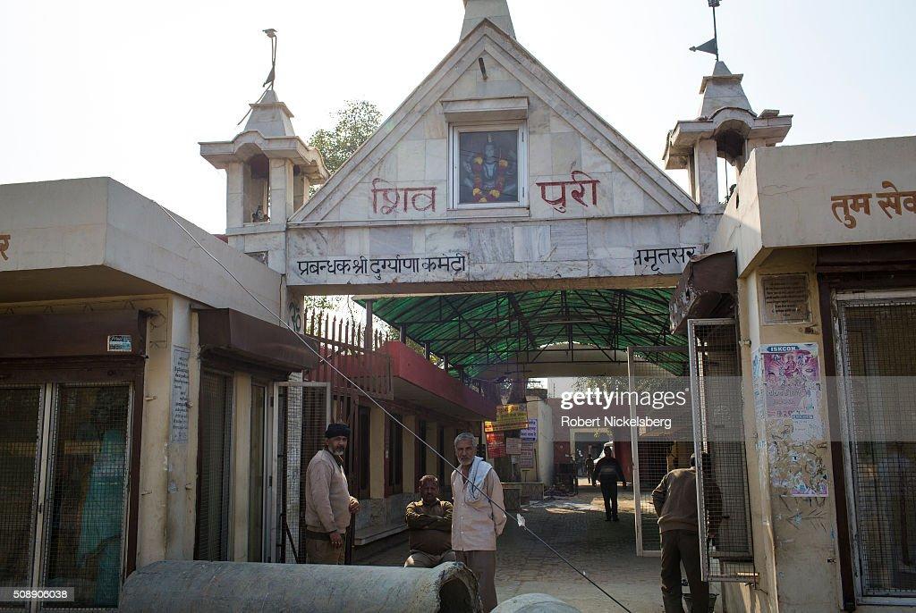 At Amritsar Crematorium : News Photo