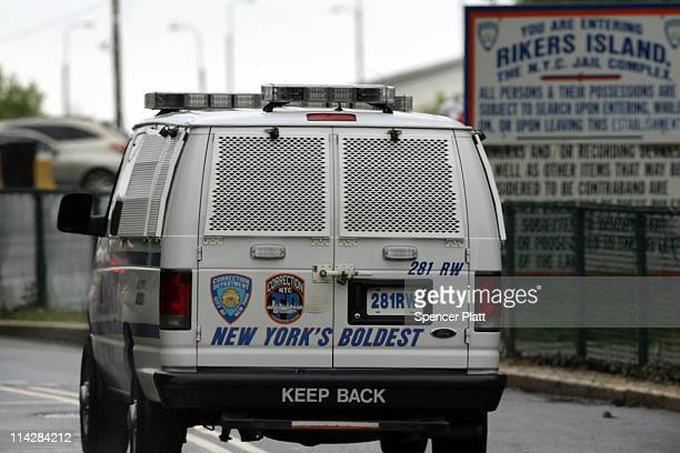 View of the entrance to the Rikers Island prison complex where Dominique Strauss-Kahn, head of the International Monetary Fund , is being held while...