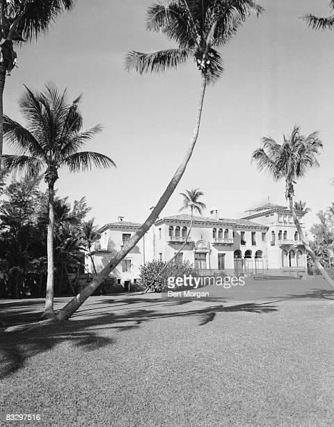 View of the estate of American financier John S Phipps Palm Beach Florida 1940s