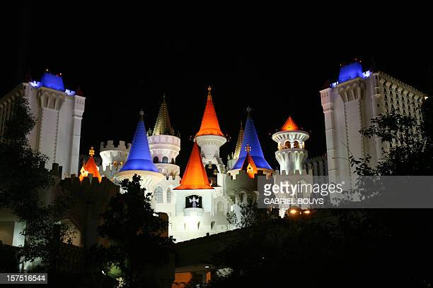 View of the Excalibur Hotel in Las Vegas 12 November 2006 AFP PHOTO GABRIEL BOUYS