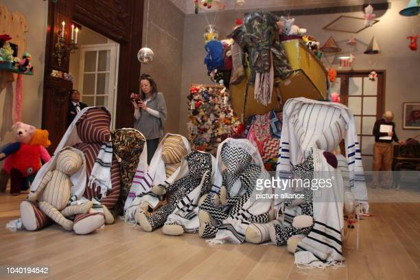 View of the exhibition 'Charlemagne Palestine's Bear Mitzvah in Meshugaland' at the Jewish Museum in New York, US, 16 March 2017. Photo: Christina...