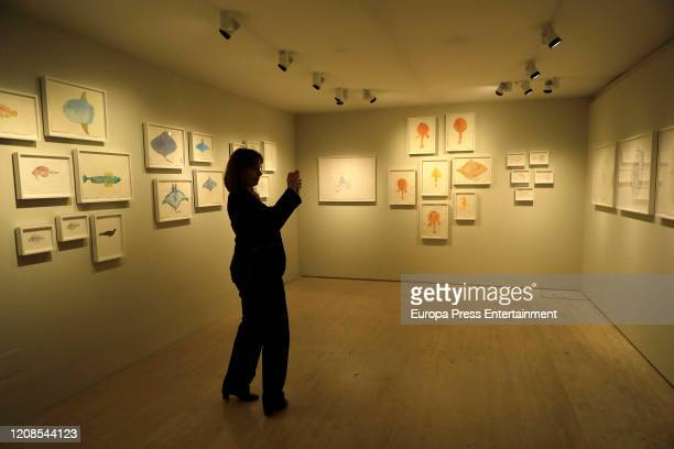 View of the exhibition Moving Off the Land II at the ThyssenBornemisza National Museum on February 25 2020 in Madrid Spain