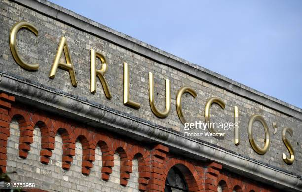 A view of the exterior of a Carluccio's Italian restaurant on March 30 2020 in Dorchester United Kingdom Carluccio's Italian restaurant chain has...