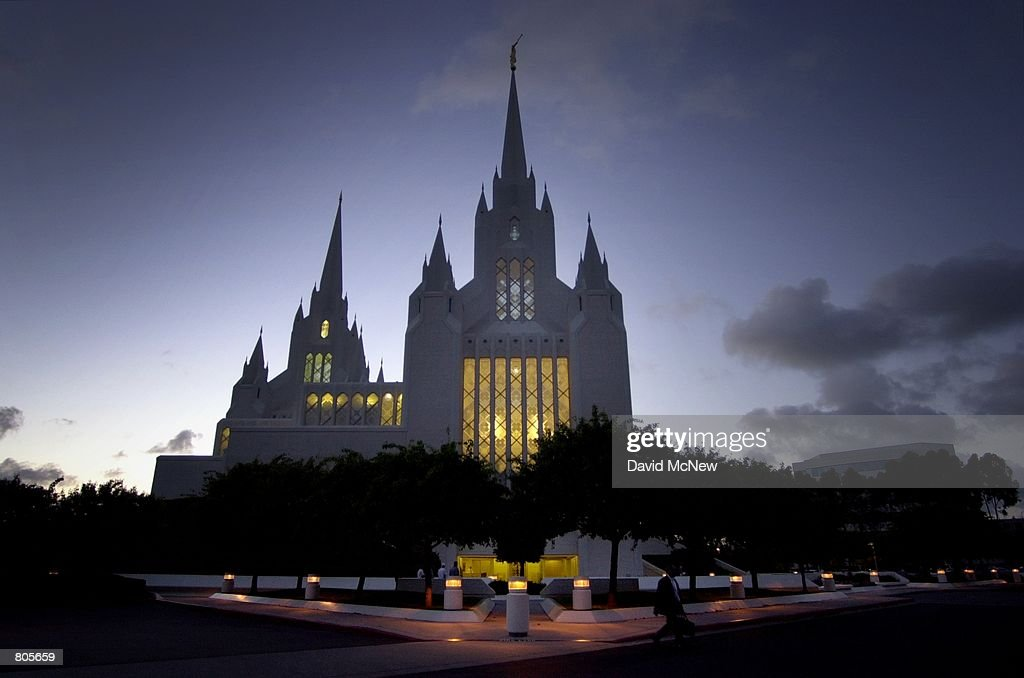 California to Get Three New Mormon Temples to Make State Second Only to Utah in Number of LDS Temples : News Photo