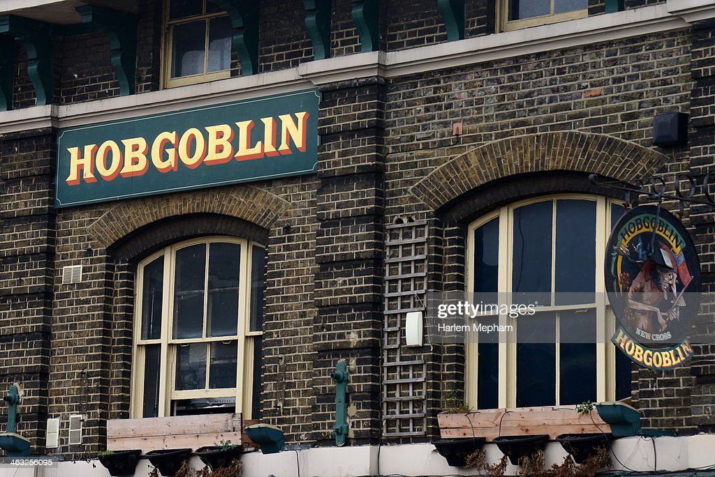 A view of the exterior of The Hobgoblin pub in New Cross, South London on January 17, 2014 in London, England. It has been reported that actor Shia LaBeouf alledgedly headbutted a drinker in London the pub during an arguement.