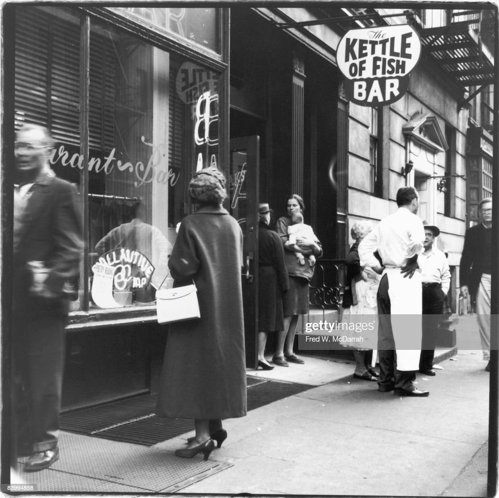 The Kettle Of Fish Bar, 1959 : News Photo
