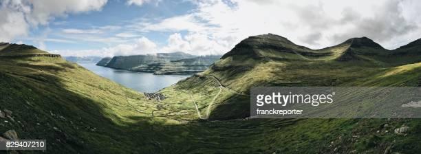 Syn på ön Eysturoy i Färöarna