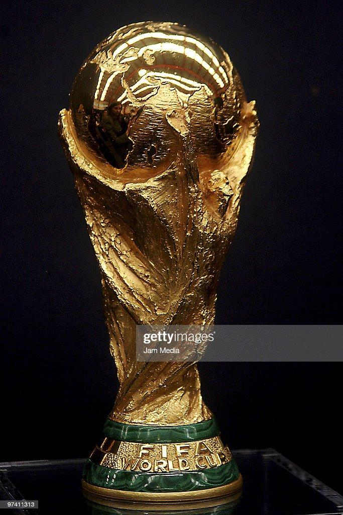 Fifa world cup trophy tour photo online