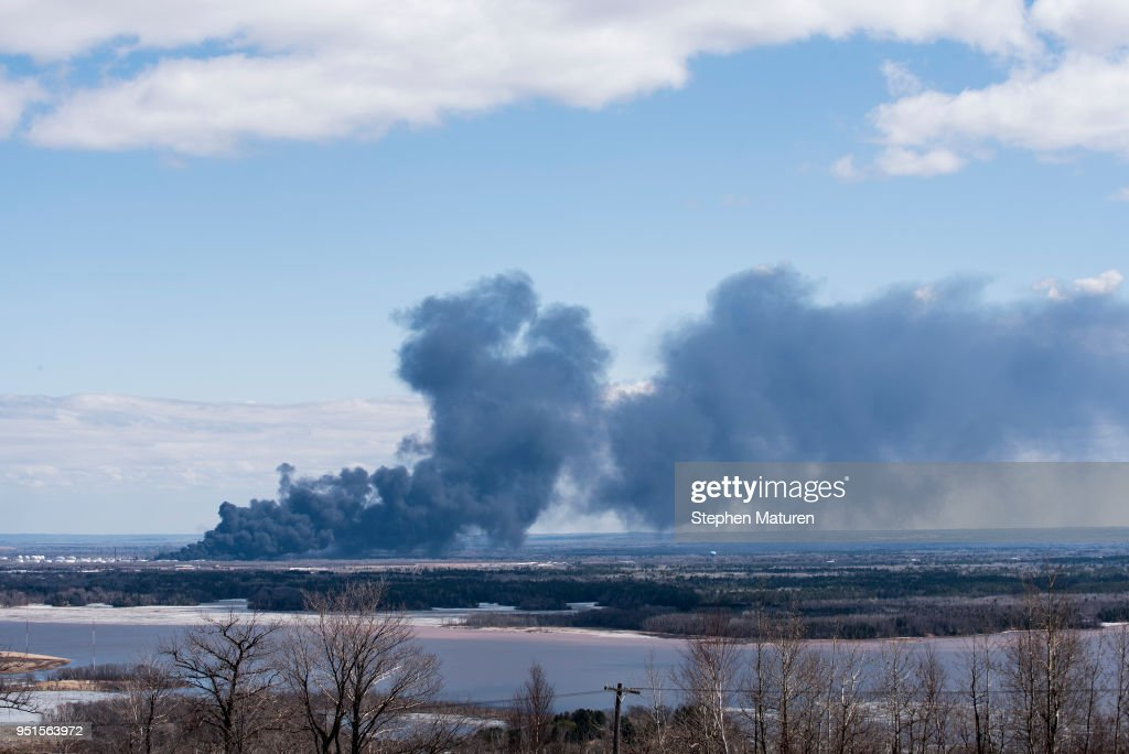 Explosion Reported At Husky Oil Refinery In Superior, Wisconsin
