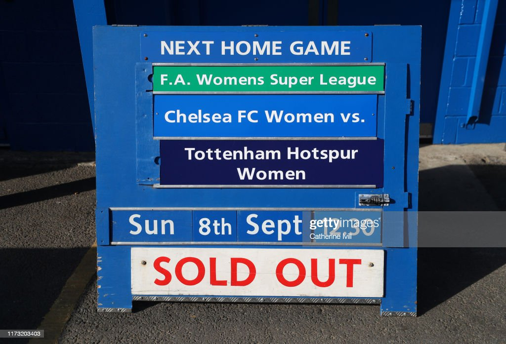 Chelsea v Tottenham Hotspur - Barclays FA Women's Super League : News Photo