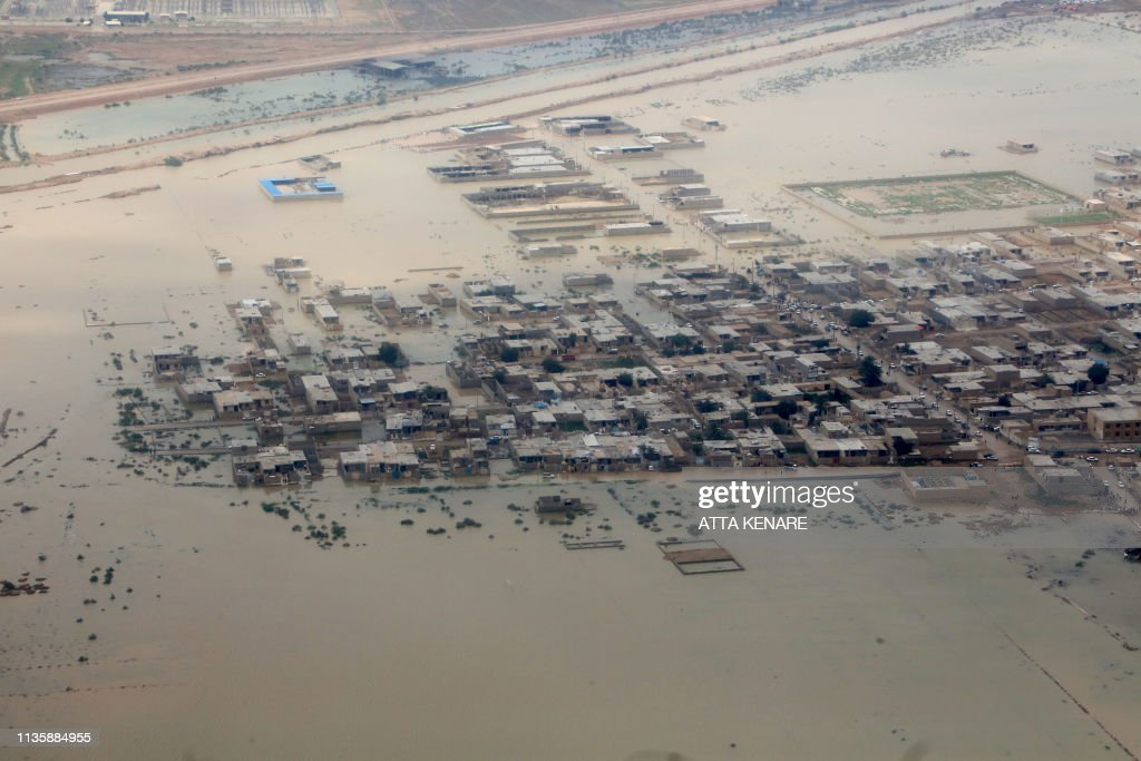 IRAN-FLOODS : Foto di attualità
