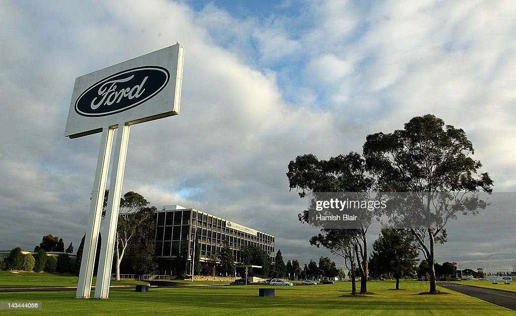 Ford Factories Halt Production For One Week : News Photo