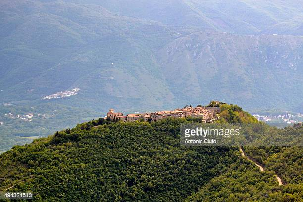 CONTENT] View of the fortified village of Alvito Castle and the Cantelmo manor Construction of the fortification dates back to the Norman invasion...