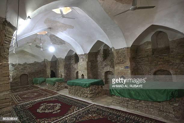 KRAUSS A view of the four tombs belonging to the four Jewish companions of the Jewish prophet Ezekiel the prophet who followed the Judeans into the...