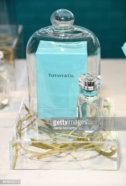 A view of the fragrance bar at the Tiffany Co Fragrance launch event on September 6 2017 in New York City