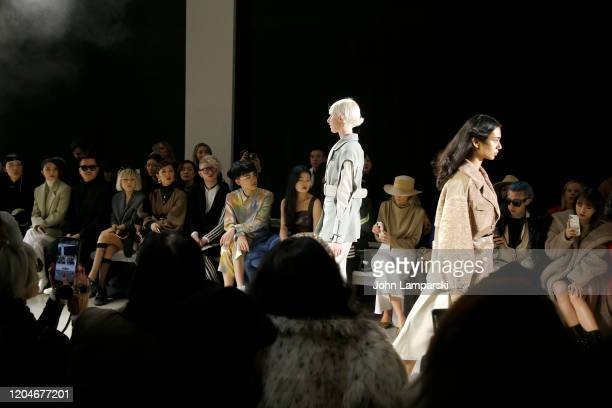 A view of the front row during the Blancore fashion show during February 2020 New York Fashion Week The Shows at Gallery II at Spring Studios on...