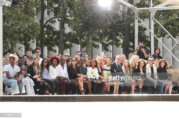 A view of the front row during the Longchamp SS20 Runway Show on September 07 2019 in New York City