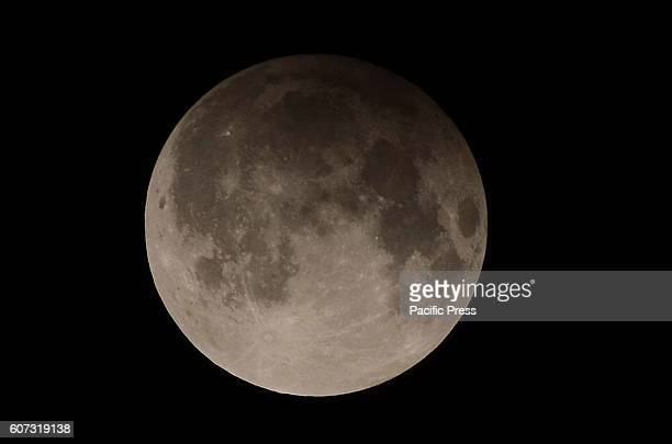 A view of the full Lunar Eclipse in lahore night Pakistan will witness penumbral moon eclipse The lunar eclipse or chand grahan will be notice in...