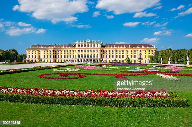 CONTENT] View of the Gardens and the Palace of Schönbrunn in Vienna Austria Vista dos jardins e do Palacio de Schönbrunn em Viena Austria