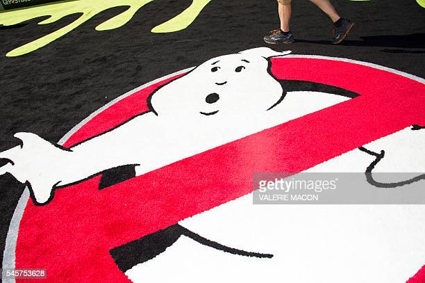 View of the general ambiance at the Los Angeles Premiere of Ghostbusters in Hollywood California on July 9 2016 / AFP / VALERIE MACON