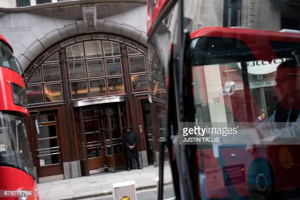 A view of the Goldman Sachs headquarters in London on May 5 2017 Development of London's financial centre will 'stall' owing to Brexit but is...