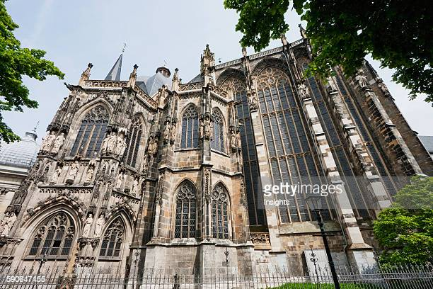 View Of The Gothic East End Of Aachen Cathedral From The Southeast Aachen Germany