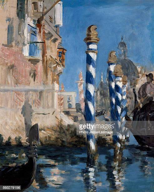 View of the Grand Canal of Venice Painting by Edouard Manet 1875 Private collection