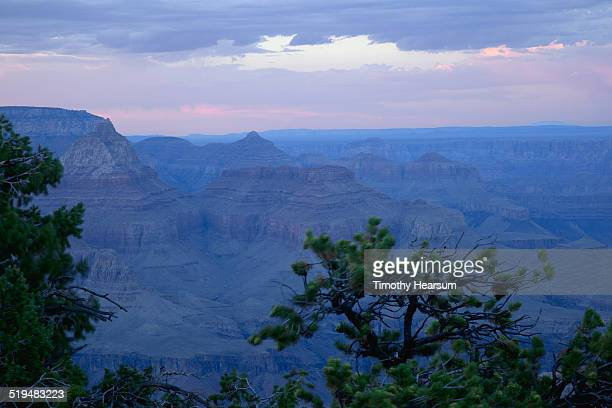 view of the grand canyon from the south rim - timothy hearsum stock pictures, royalty-free photos & images