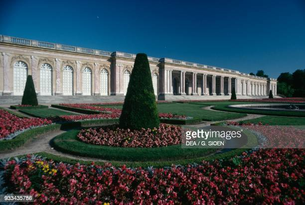 View of the Grand Trianon from the garden Palace of Versailles IledeFrance France 18th century