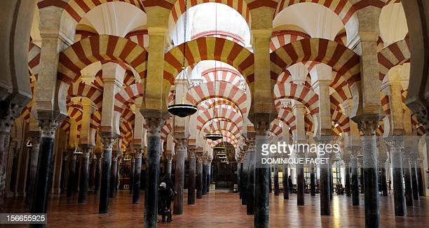 View of the great mosque of Cordoba in Cordoba on February 24 2010 AFP PHOTO / DOMINIQUE FAGET