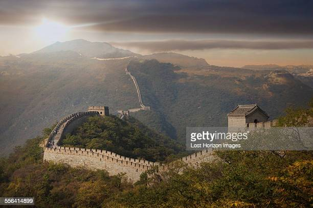 View of The Great Wall at Mutianyu, Beijing, China
