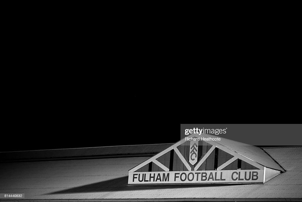 A view of the ground during the Sky Bet Championship match between Fulham and Burnley at Craven Cottage on March 8, 2016 in London, United Kingdom.