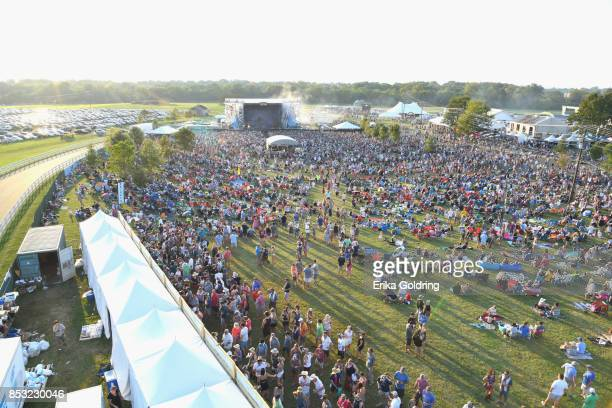 A view of the grounds during Pilgrimage Music Cultural Festival on September 24 2017 in Franklin Tennessee