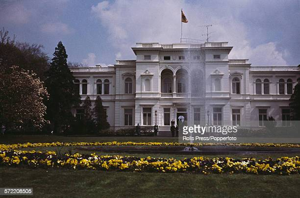 View of the Hammerschmidt Villa, official residence of President of the Federal Republic of Germany in Bonn, the capital city of West Germany in 1967.
